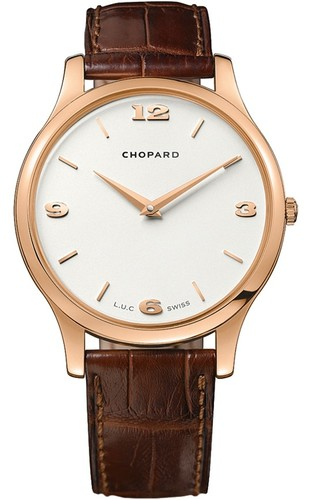 Chopard L.U.C. Classic Automatic (RG / Silver / Leather) 161902-5001