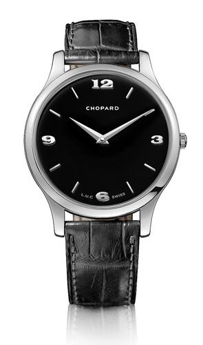 Chopard L.U.C. Classic Automatic (WG / Black / Leather) 161902-1001