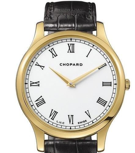 Chopard L.U.C. Classic Automatic (YG / Silver / Leather) 161902-0001
