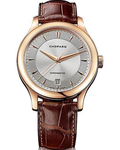 Chopard L.U.C. Classic Center Seconds (RG / Silver / Leather) 161907-5001