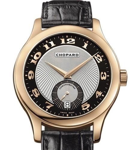 Chopard L.U.C. Classic Mark III (RG / Silver / Leather) 161905-5001