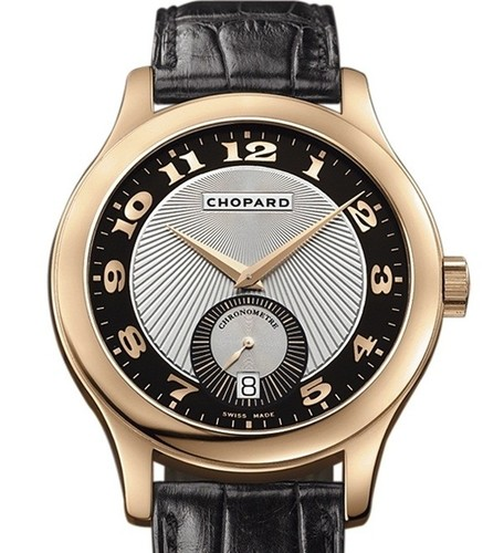 Chopard L.U.C. Classic Mark III (RG / Silver / Leather) 161905-5001