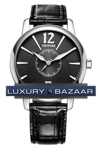 Chopard L.U.C. Classic Twin (WG / Black / Leather) 161880-1001