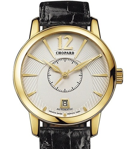 Chopard L.U.C. Classic Twin (YG / Silver / Leather) 161880-0001