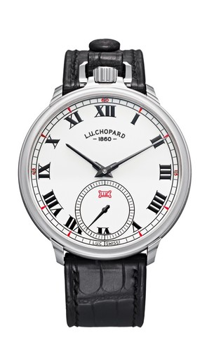 Chopard L.U.C. Louis Ulysse The Tribute (WG / White / Leather) 161923-1001