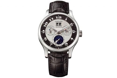 Chopard L.U.C. Lunar One (Platinum / Silver / Leather) 161894-9001
