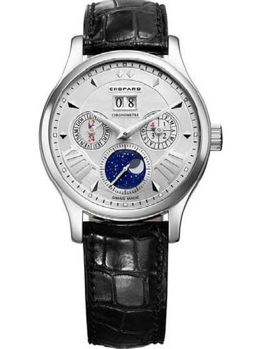 Chopard L.U.C. Lunar One (WG / White / Leather) 161894-1001