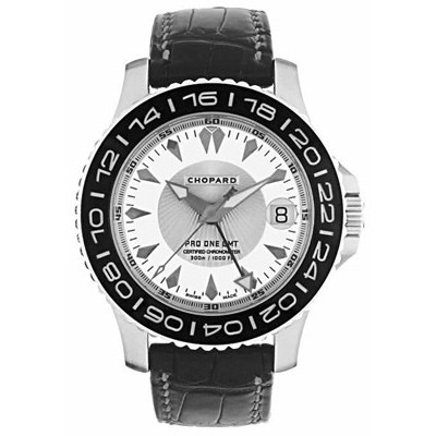 Chopard L.U.C. Pro One Cadence (SS / Silver / Leather) 168959-3002