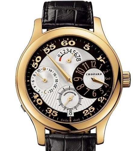 Chopard L.U.C. Regulateur (YG / Silver / Leather) 161874-0001