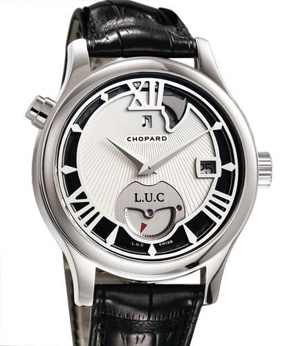 Chopard L.U.C. Strike One (WG / Silver / Leather) 161912-1001