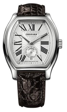 Chopard L.U.C. Tonneau (WG / Champagne / Leather) 162267-1003