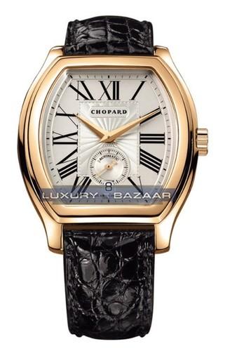 Chopard L.U.C. Tonneau (YG / Champagne / Leather) 162267-0006