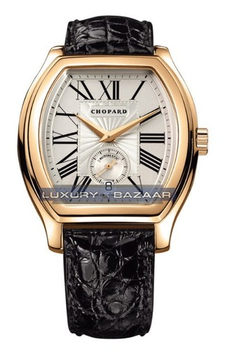 Chopard L.U.C. Tonneau (YG / Champagne / Leather) 162267-0006