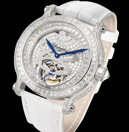 Chopard L.U.C. Tourbillon Lady (SS-Diamonds) 134188 - 1003