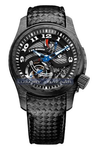 Chopard L.U.C. Tourbillon Tech Twist (Palladium / Black / Leather) 168529-9001