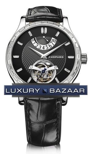 Chopard L.U.C. Tourbillon (WG-Diamonds / Black / Leather) 171906-1002