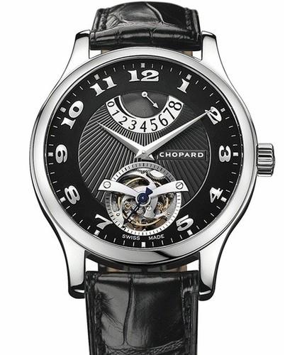 Chopard L.U.C. Tourbillon (WG / Black / Leather) 161906-1001