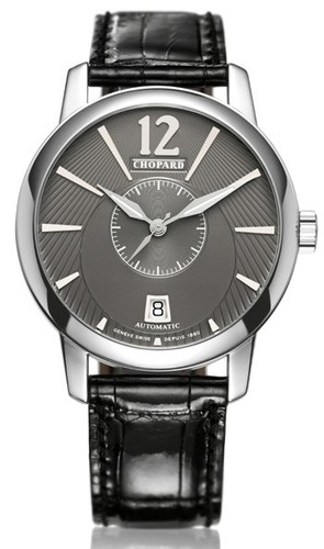 Chopard L.U.C. Twin Jose Carreras (WG / Grey / Leather) 161909-1001