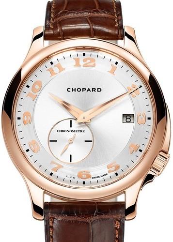 Chopard L.U.C. Twist (RG / White / Leather) 161888-5007