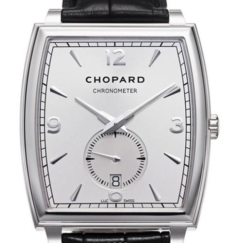 Chopard L.U.C. XP Tonneau (WG / White / Leather) 162294-1001