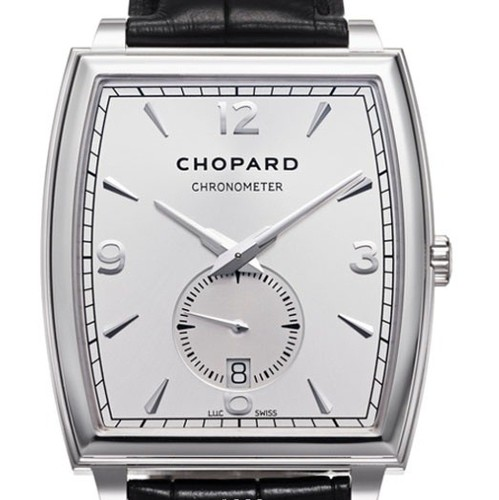 Chopard L.U.C. XP Tonneau (WG / White / Leather) 162294-1001