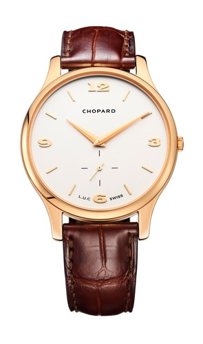 Chopard L.U.C. XPS (RG / Silver / Leather) 161920-5001
