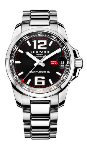 Chopard Mille Miglia Gran Turismo XL (SS / Black / Bracelet) 158997-3001