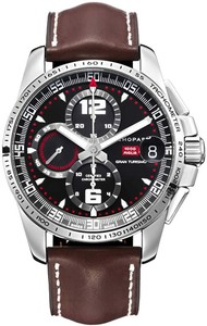 Chopard Mille Miglia Gran Turismo XL (SS / Black / Leather) 168459-3001