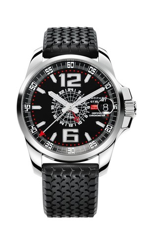 Chopard Mille Miglia GT XL GMT (SS / Black / Rubber) 168514-3001