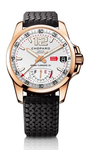 Chopard Mille Miglia Power Control (RG / Silver / Rubber) 161272-5001