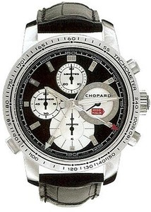 Chopard Mille Miglia Split Second (SS / Black / Rubber) 168995-3002