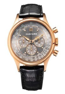 Chopard Mille Miglia Vintage Chrono (RG / Gray / Leather) 161889-5002