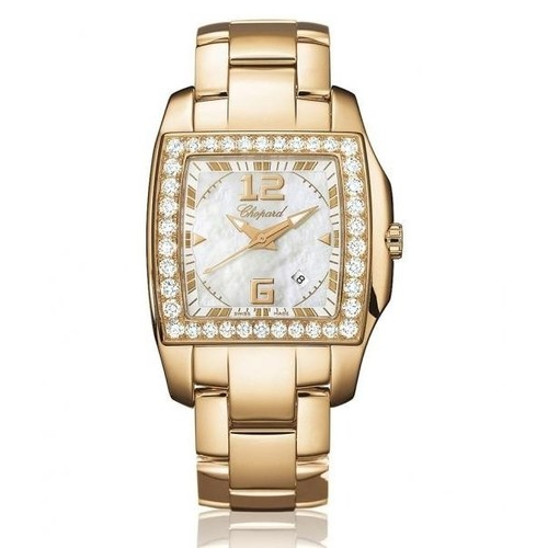 Chopard Two O Ten Lady (RG-Diamonds / MOP / RG) 107468-5001