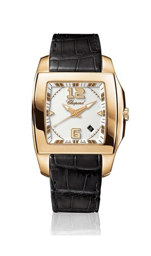 Chopard Two O Ten Lady (RG / Silver / Leather) 127468-5001