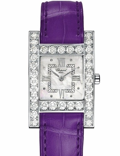 Chopard Your Hour (WG-Diamonds / MOP / Leather) 136621-1001