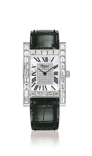 Chopard Your Hour (WG / Diamonds / MOP / Leather) 173309-1006