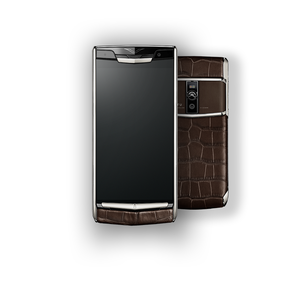 VERTU SIGNATURE TOUCH NEW COCOA ALLIGATOR
