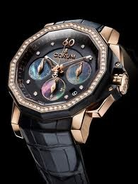 Corum Admiral's Cup Challenger 40 Chrono Diamonds 984.970.85/0081 PN36
