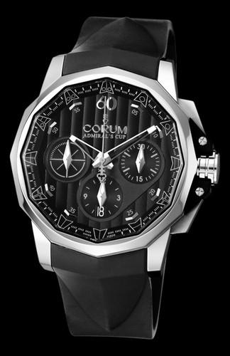Corum Admiral's Cup Challenger 44 Chrono Black Dial 753.771.20/F371 AN15