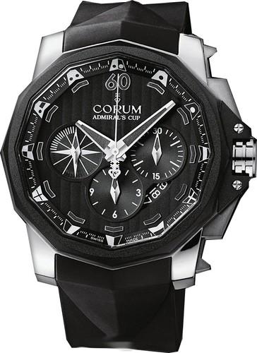 Corum Admirals Cup Chronograph 48 (Titanium / Black / Rubber)