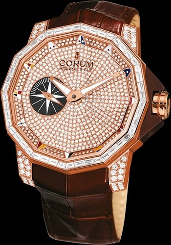 Corum Admirals Cup Competition 48 (RG-Diamonds / RG-Diamonds / Leather)