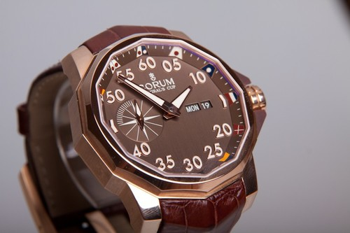 Corum Admiral's Cup Competition 48 (RG/Brown/Leather)