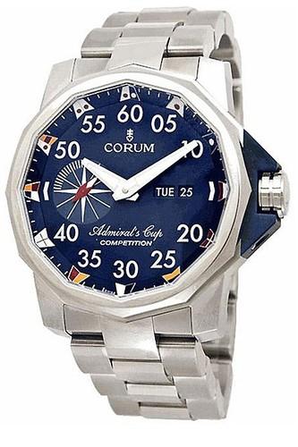 Corum Admirals Cup Competition 48 (Ti / Blue / Bracelet)