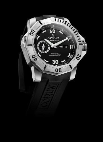Corum Admirals Cup Deep Hull 48 (Ti / Black)