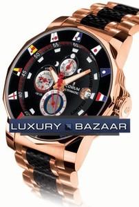 Corum Admirals Cup Tides Regatta Limited (RG / Black / RG-Rubber Bracelet)