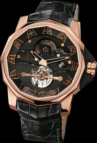 Corum Admirals Cup Tourbillon 48 (RG / Black)