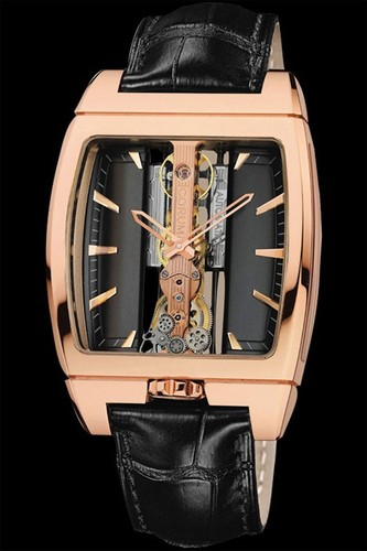 Corum Bridges Golden Bridge Automatic Watch 313.150.55/0002 FK02