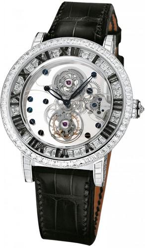 Corum Classical Billionaire Tourbillon (WG-Black Diamonds/Leather)