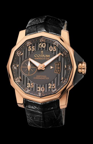 Corum Corum Admiral's Cup 48 Challenger Red Gold Watch #947.951.55/0081 AK24