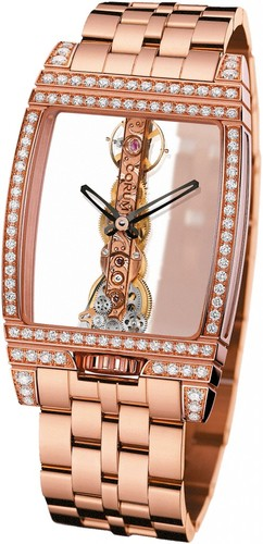 Corum Golden Bridge Diamonds (RG / Skeleton / Bracelet)